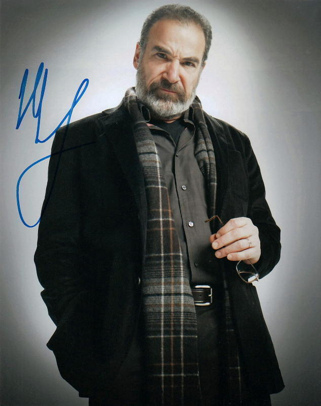 MANDY PATINKIN.. Homeland - SIGNED