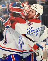 Carey Price & Brandon Prust DUAL Autographed Montreal Canadiens