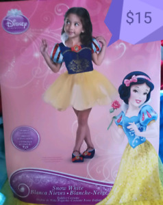 Girls Snow White Costume - Size 3-4T
