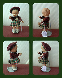 "Reliable 8"" Composition 'Standing Doll!' circa 1945 London Ontario image 1"