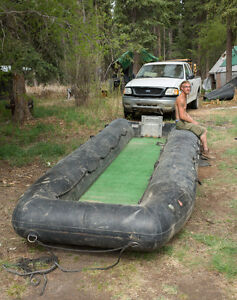 19 Ft INFLATABLE BOAT