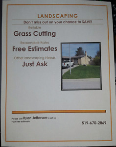 Lawn care FREE QUOTES