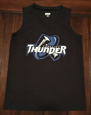 Carolina Thunder Sleeveless Augusta Sportswear Jersey Shirt Womens Ladies Medium Augusta Sleeveless Jersey