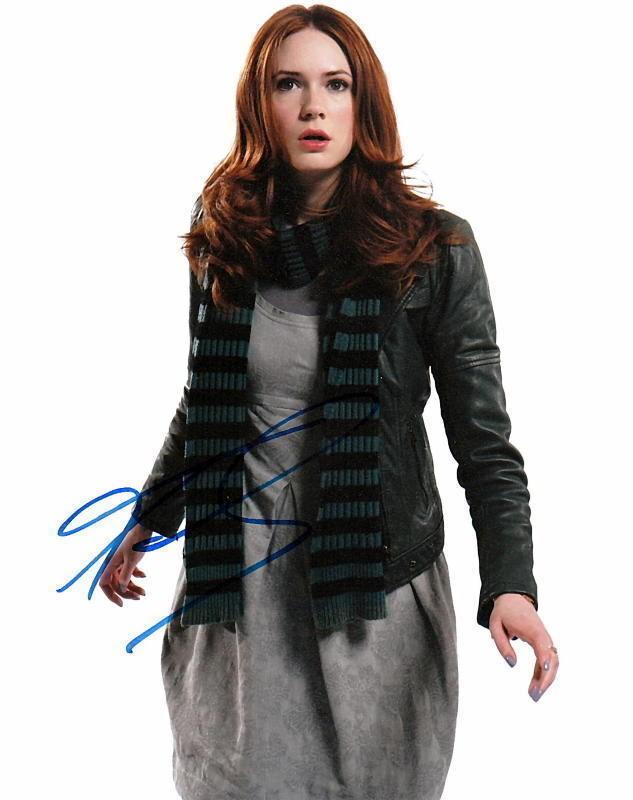 KAREN GILLAN.. Doctor Who's Amy Pond - SIGNED