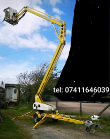 💥💥Niftylift 140T 14m cherry picker 💥💥 access platform trailer 1