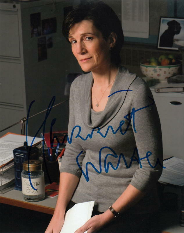HARRIET WALTER.. Law and Order: UK - SIGNED