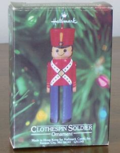 Clothespin Soldier (1980) by Hallmark Kingston Kingston Area image 1