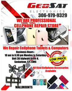 GEOSAT ELECTRONICS CELL PHONE REPAIR