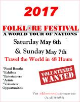 FOLKLORE FESTIVAL 2017 REGISTRATION FORMS