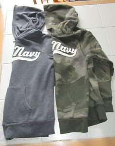 2x Boys hoodies from Old Navy size Lg (10/12)