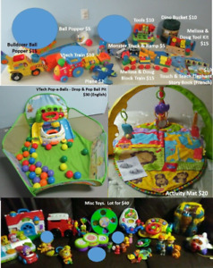 Toys - 0-4 years old
