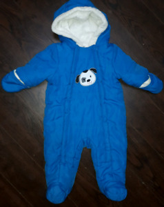 Baby snowsuits and fall outerwear