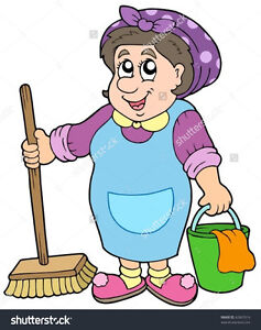 Cleaning Lady wants to clean your house...
