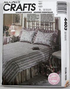 McCall's Crafts / Home Decorating # 4403, 15 designs- UNCUT