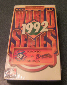4--Classic Toronto Blue Jays on VHS (New never been opened)