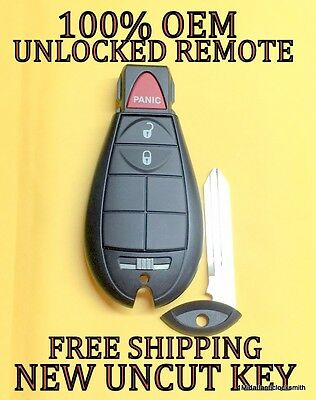 (OEM DODGE RAM 1500 2500 JOURNEY KEYLESS REMOTE KEY FOB FOBIK M3N5WY783X 05026101)