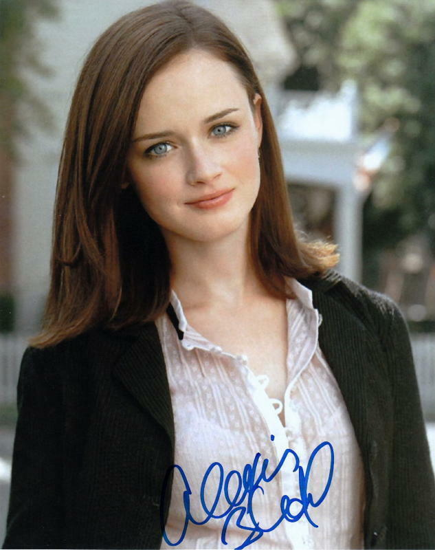 ALEXIS BLEDEL.. Gilmore Girls - SIGNED