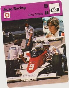 1979 RICK MEARS SPORTSCASTER CARD #80-03 A PRINTING MINT