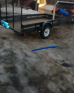 5x10 Utility Trailer, 6mnths old