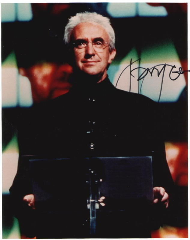 JONATHAN PRYCE.. Tomorrow Never Dies (Bond 007) SIGNED