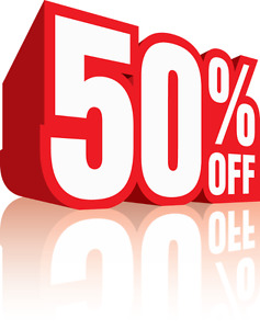 50% off Selected Motorycle Tires