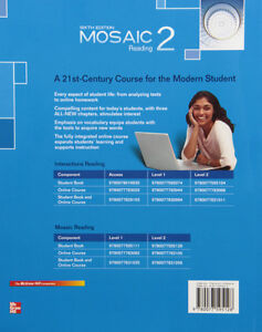Used Mosaic 2 Reading Student Book North Shore Greater Vancouver Area image 2