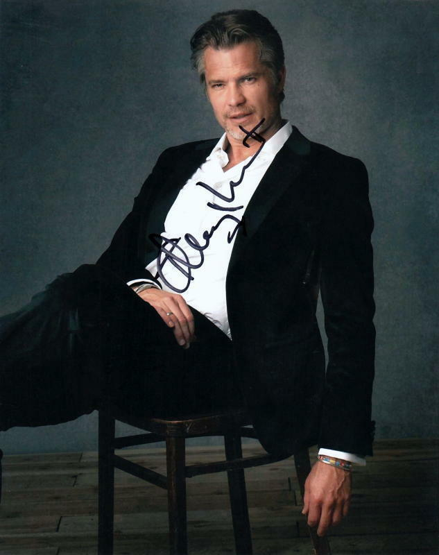 TIMOTHY OLYPHANT.. Hot Handsome Hunk - SIGNED