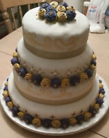 A wedding cake for all budgets
