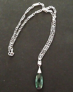 ELLE Sterling Silver Chain and Pendant Design