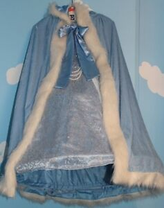 ELSA DRESS AND HOODED CAPE