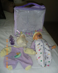 BABY DOLL AND CARRYING CASE