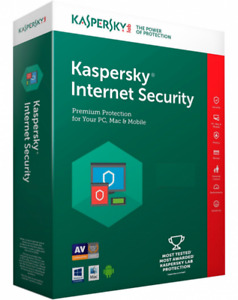 Kaspersky Internet Security 2018 1 YEAR LICENSE$25 CASH FIRM P