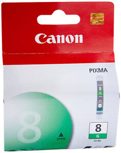 Canon CLI-8G-Green Ink Tank-Brand New + more-Lot $5
