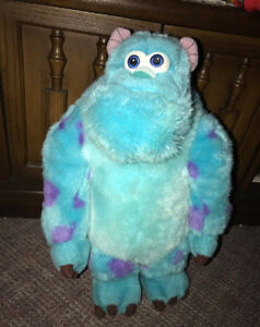 """Disney Store Exclusive Monsters Inc Sulley 15"""" Plush Doll Toy"""
