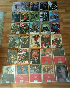 The New Avengers issue #1-26