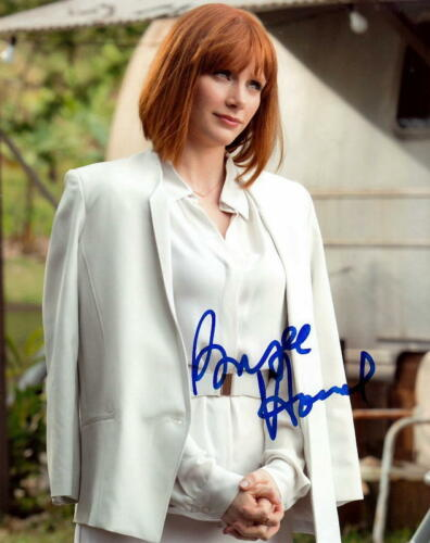 BRYCE DALLAS HOWARD.. Alluring Actress (Jurassic World) SIGNED