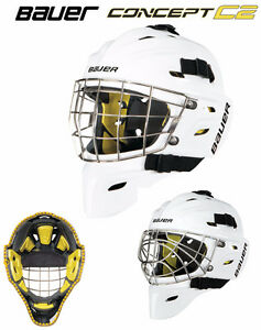 Masque Bauer C2 Goalie Mask - two cages ( CATS EYES AND REG)