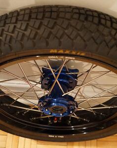 Supermoto RM-Z wheels
