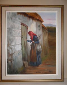 Original Painting by Garo - The Old Lady