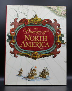 The Discovery of North America (1972) Hard Cover Book