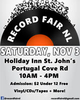 Record Fair NL Fall 2018 Edition
