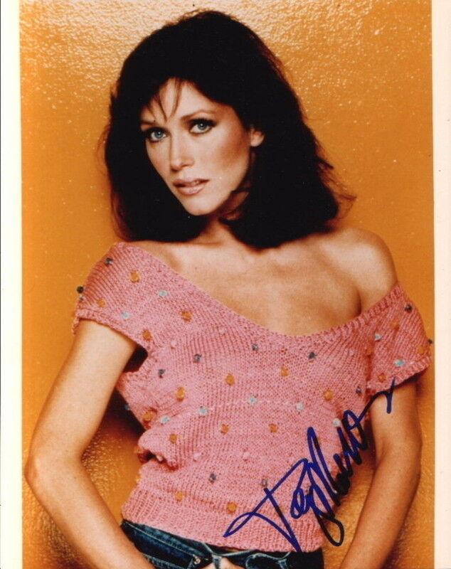 TANYA ROBERTS.. Breathtaking Beauty (Charlie's Angels) SIGNED