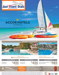 Experience Cuba Accor Hotels - Vacations from $435