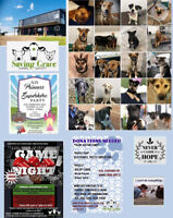 Saving Grace Animal Society Fundraisers