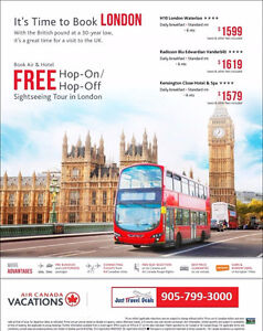 Save $150 per couple on any Great Britain and Ireland vacation!