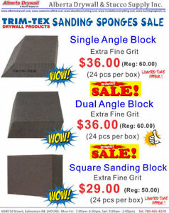 Texture Sponge Blowout Sale! Starting from only $29.00 per box