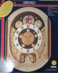 Seiko Christmas Melodies in Motion Wall Clock 2007 Collecter Ed