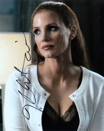JESSICA CHASTAIN.. Molly's Game Beauty - SIGNED