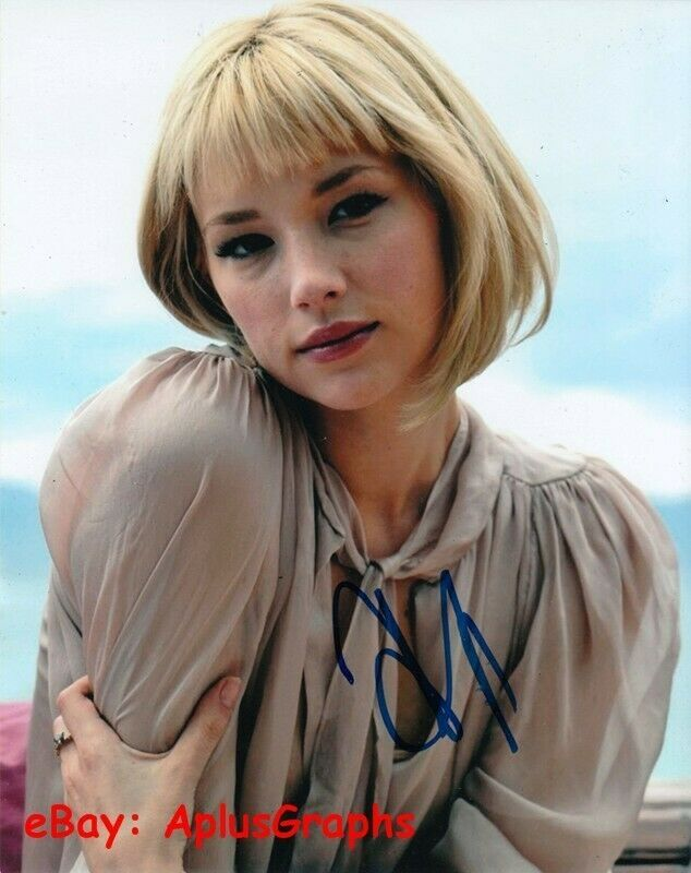 HALEY BENNETT.. Alluring Actress - SIGNED