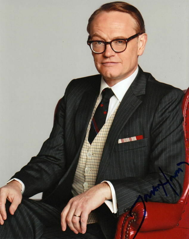 JARED HARRIS.. Mad Men's Lane Pryce - SIGNED